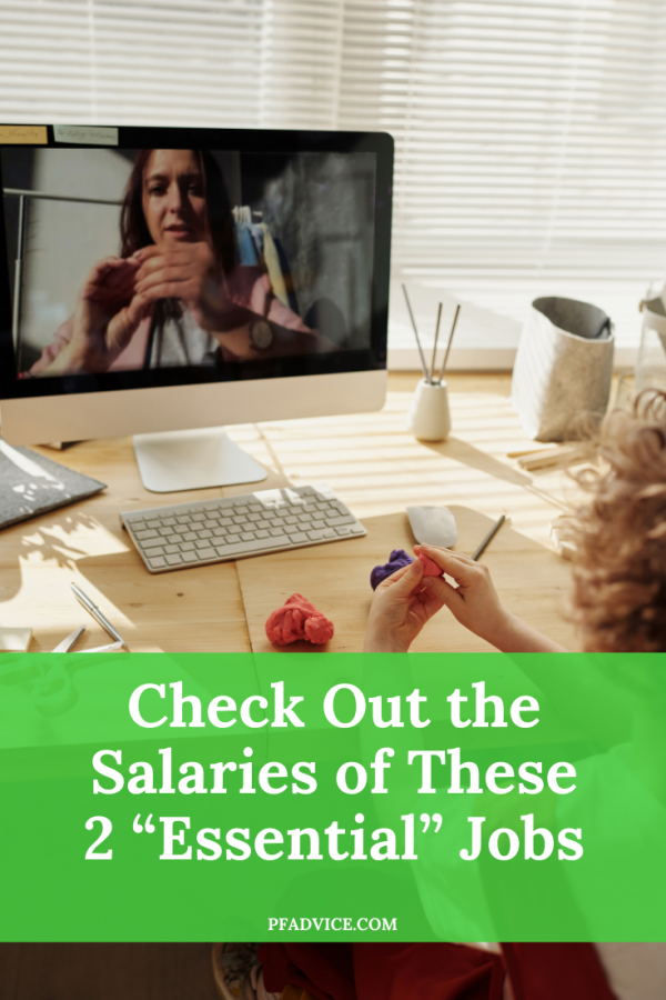 """Check Out the Salaries of These 2 """"Essential"""" Jobs"""
